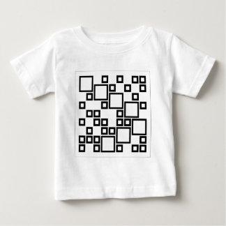 Composición abstracta con los cuadrados tshirts