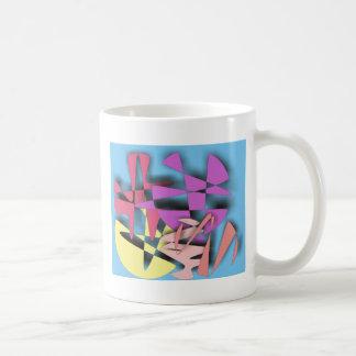 Composición abstracta taza de café