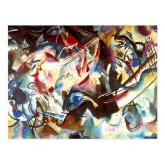 Composición abstracta VI de Kandinsky Postales