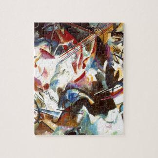 Composición abstracta VI de Kandinsky Puzzles