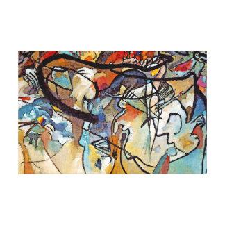 Composición cinco de Wassily Kandinsky Lienzo Envuelto Para Galerias