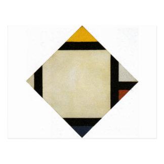 Composición contraria VII de Theo van Doesburg Tarjeta Postal