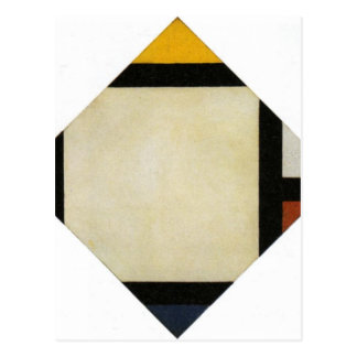 Composición contraria VII de Theo van Doesburg Tarjetas Postales
