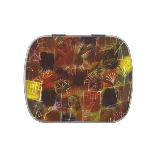 Composición cósmica de Paul Klee- Latas De Caramelos