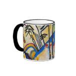 Composición cuatro de Kandinsky Taza De Café