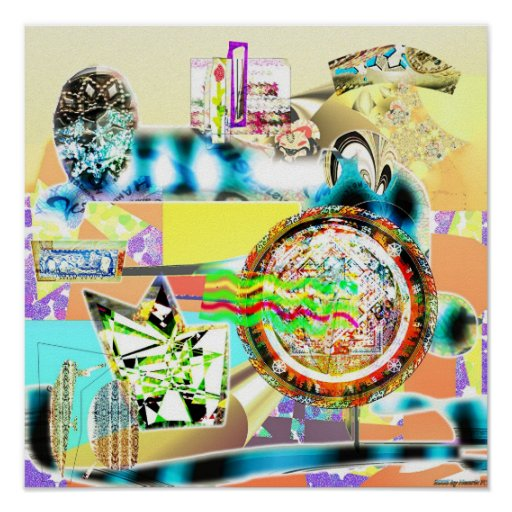 Composición de 003 texturas impresiones