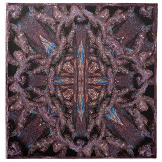 Composición de cadena del hierro servilletas imprimidas