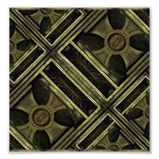 Composición de madera de cruz griega fotos
