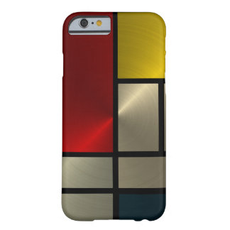 Composición de Piet Mondrian (Goldl) Funda De iPhone 6 Slim