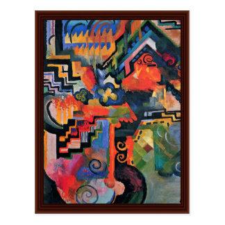 Composición del color (homenaje à Sebastin Juan Ba Tarjetas Postales