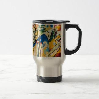 Composición IV de Kandinsky Taza De Viaje De Acero Inoxidable