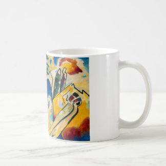 Composición IV de Kandinsky Taza