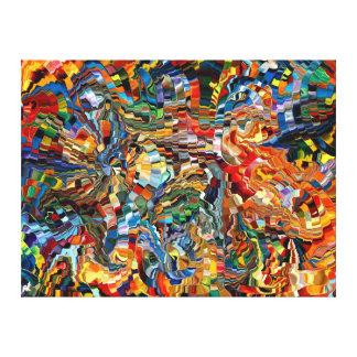 composición moderna 29 por el rafi talby impresión en lienzo