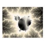 Composición oscura #10 del fractal postales