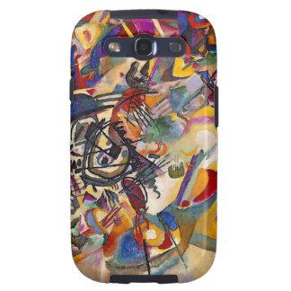 Composición siete de Wassily Kandinsky Galaxy SIII Protectores