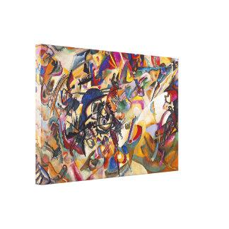 Composición siete de Wassily Kandinsky Lienzo Envuelto Para Galerías