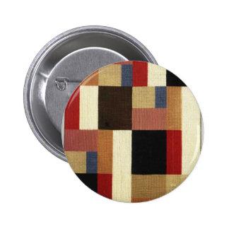 Composición vertical y horizontal Sophie Taeuber Pin Redondo De 2 Pulgadas