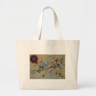 Composición VIII de Kandinsky Bolsa Tela Grande