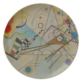 Composición VIII de Kandinsky Platos De Comidas