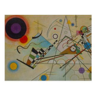 Composición VIII de Kandinsky Tarjetas Postales