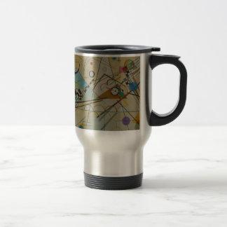 Composición VIII de Kandinsky Taza De Viaje De Acero Inoxidable