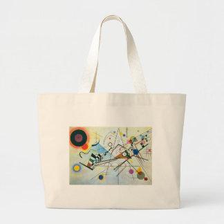 Composición VIII de Wassily Kandinsky Bolsa Tela Grande