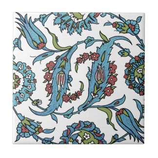 Composision floral turco antiguo azulejos ceramicos