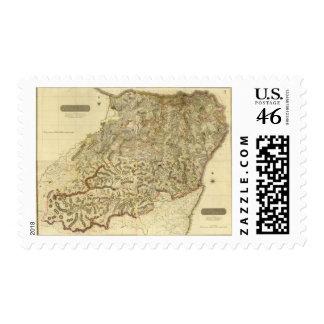 Composite Aberdeen, Banff Postage Stamps