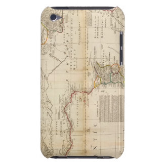 Composite Africa hand colored map Barely There iPod Cover