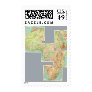 Composite Africa Stamp
