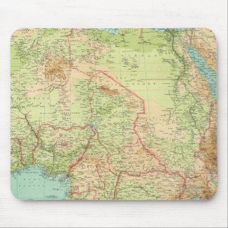 Composite Africa with shipping routes Mouse Pad