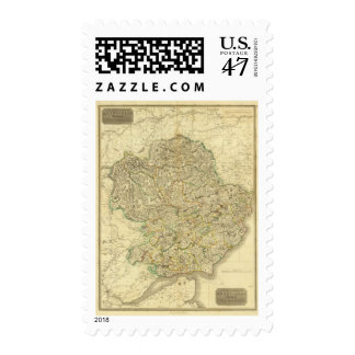 Composite Angusshire Postage Stamp