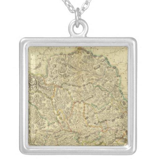 Composite Angusshire Square Pendant Necklace