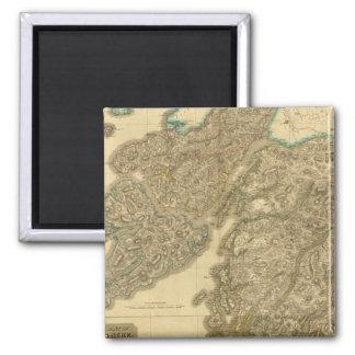Composite Argyllshire 2 Inch Square Magnet