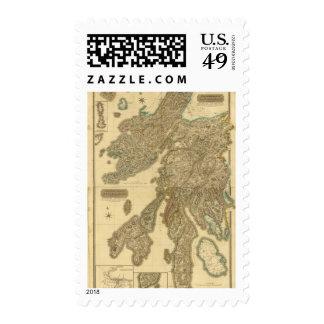 Composite Argyllshire Stamps