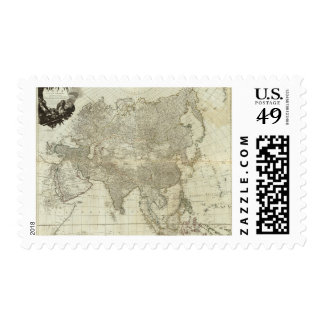 Composite Asia, islands according to d'Anville Stamp