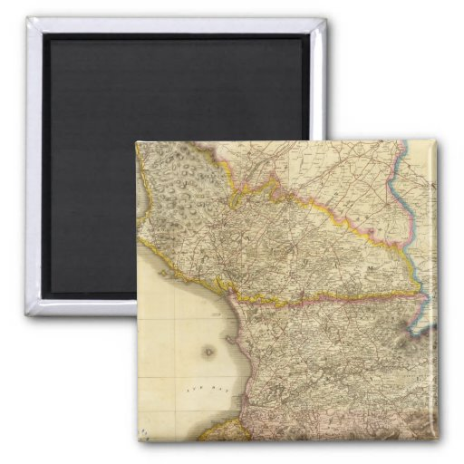 Composite Ayrshire 2 2 Inch Square Magnet