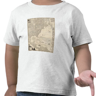 Composite British Empire in America T Shirts