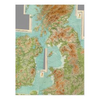 Composite British Isles Postcard