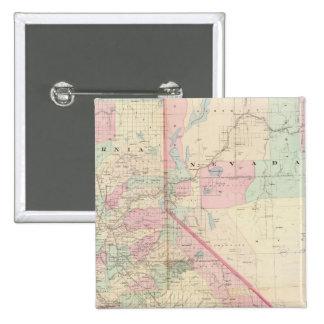 Composite Calif, Nevada Pinback Button