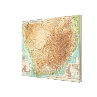 Composite Cape Province, Transvaal Canvas Print