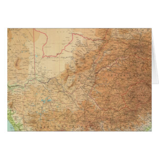Composite Cape Province, Transvaal Card