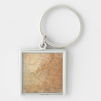 Composite Cape Province, Transvaal Keychain