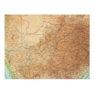 Composite Cape Province, Transvaal Postcard