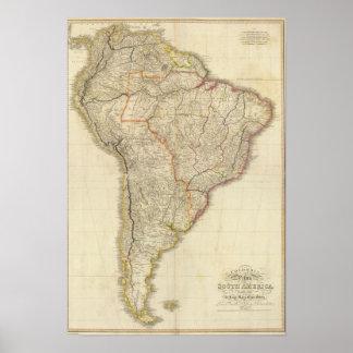 Composite Colombia Prima, S America Posters