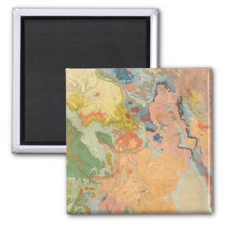 Composite Colorado 2 Inch Square Magnet