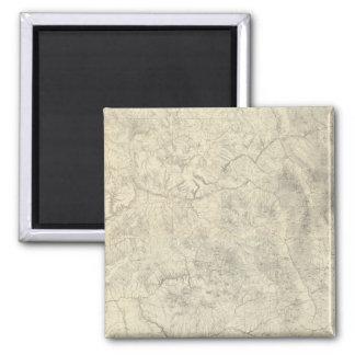 Composite Colorado 2 Inch Square Magnet