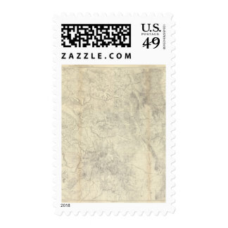Composite Colorado Postage Stamp