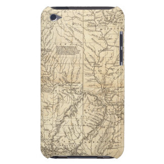 Composite Country drained by the Mississippi Case-Mate iPod Touch Case