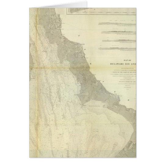 Composite Delaware Bay, River Card